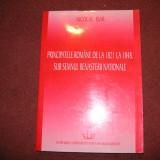 Principatele romane de la 1821 la 1848 - Nicolae Isar - Istorie