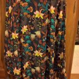 Camasa înflorată H&M - Camasa dama, Marime: 44, Culoare: Negru