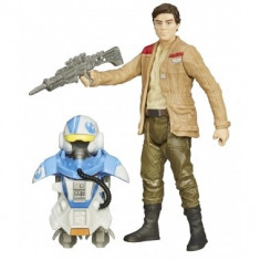 Star Wars Episode VII, Poe Dameron Armor Up 10 cm - Figurina Povesti Hasbro