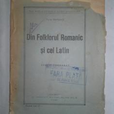 Aromani, DIN FOLCLORUL ROMANIC SI CEL LATIN-TACHE PAPAHAGI - Carte folclor
