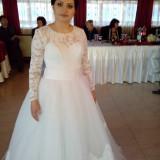 Rochie mireasa -tip printesa superba - Rochie de mireasa printesa