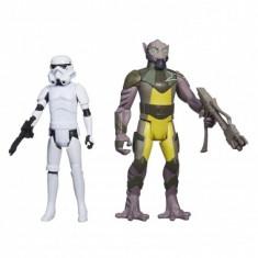 Star Wars Rebels, Garazeb ´Zeb´ Orrelios & Stormtrooper 10 cm Hasbro