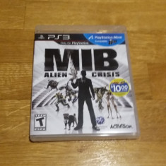 PS3 Men in Black MIB Alien Crisis / MOVE compatibil - joc original by WADDER - Jocuri PS3 Activision, Actiune, 12+, Multiplayer