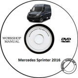 Mercedes Sprinter (2nd gen) 2016 Service Manual + Schema Electrica - Manual auto