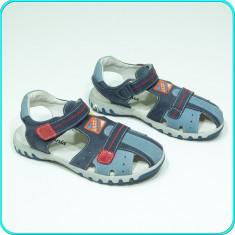 NOI, DE FIRMA → Sandale DIN PIELE, usoare, aerisite, MELANIA → baieti | nr. 34 - Sandale copii Melania, Culoare: Din imagine, Piele naturala