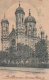 BUCURESTI , BISERICA  SFANTUL SPIRIDON  ,  CLASICA , CIRCULATA 1903, Printata