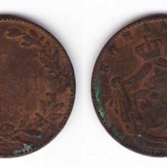 Romania 1867 - 5 bani, Watt&Co - Moneda Romania