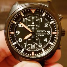 Seiko Sports SNN237P1 Cronograf - Ceas barbatesc Seiko, Quartz