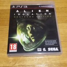 PS3 Alien isolation - joc original by WADDER - Jocuri PS3 Sega, Shooting, 18+, Single player