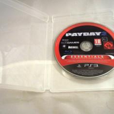 Joc Payday 2, PS3, original, alte sute de jocuri! - Jocuri PS3 Sony, Actiune, 18+, Single player