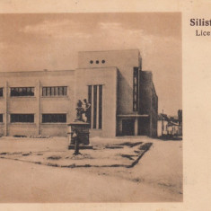 SILISTRA LICEUL PARTICULAR BULGAR - Carte Postala Dobrogea dupa 1918, Necirculata, Printata