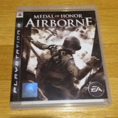PS3 Medal of honor Airborne - joc original by WADDER - Jocuri PS3 Electronic Arts, Shooting, 16+, Single player