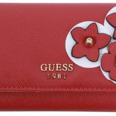 Guess Lyia SLG portofel dama nou 100% original. Livrare rapida., Culoare: Multicolor, Rosu