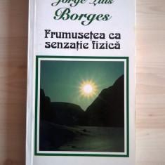 Jorge Luis Borges - Frumusetea ca senzatie fizica