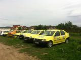 CESIONEZ AUTORIZATII TAXI CU AUTO 10.000 EURO, LOGAN, GPL, Berlina