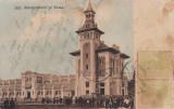 IASI  ,  ANTREPOSITELE SI VAMA  , EDITURA N. S. SCHARAGA , IASI TCV   CIRC. 1910, Circulata, Printata