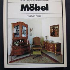 Catalog de mobila, mobilier Battenberg. Prezinta 525 piese. - Carte Istoria artei