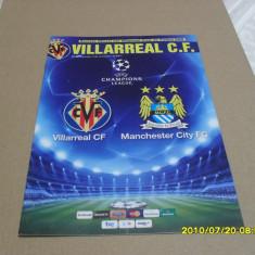 Program Villarreal - Manchester City - Program meci
