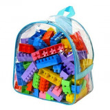 Set constructie Mare cu rucsac - 100 piese - Polesie Wader - Set de constructie