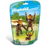 Familie de cimpanzei Playmobil