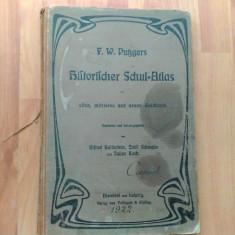 HISTORISCHER SCHUL ¸=ATLAS- F. W. PUBGERS