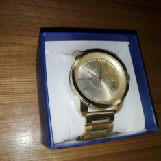 Ceas barbatesc Diesel original gold watch dz1466
