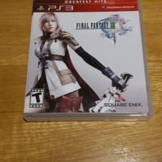 PS3 Final Fantasy XIII 13 Greatest hits - joc original by WADDER - Jocuri PS3 Square Enix, Role playing, 12+, Single player