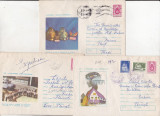 Bnk ip Lot 3  intreguri postale 1975 - circulate - PCI, Dupa 1950