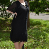 Rochie (Culoare: NEGRU, Marime: 50) - Rochie de seara