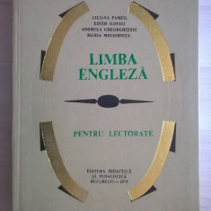 L. Pamfil, s.a. - Limba engleza pentru lectorate - Carte in engleza