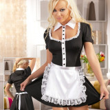 Costumatie Menajera Service Room - Lenjerie sexy femei