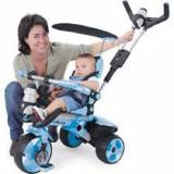 Tricicleta copii Injusa City Blue folosita doar o singura data!
