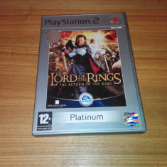 Joc ps2/Playstation 2 The Lord of the Rings The Return of the King - Jocuri PS2 Ea Games