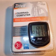 Kilometraj vitezometru bicicleta MTB CRIVIT NOU IEFTIN, Ciclocomputer bicicleta
