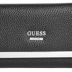 Guess Largo Slim SLG portofel dama negru  nou 100% original. Livrare rapida.