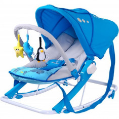 Sezlong pentru Copii Aqua Blue - Balansoar interior Caretero