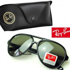 Ochelari Soare Ray Ban Wayfarer 4125 - Ochelari de soare Ray Ban, Unisex, Negru, Plastic, Protectie UV 100%