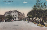 LUGOJ ,  PIATA IZABELLA , ZI DE TARG , CARUTE , VANZATORI, Necirculata, Printata