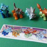 Kinder SERIA COMPLETA Animalele Roboti cu hartie - Surpriza Kinder