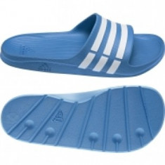 SLAPI, PAPUCI ADIDAS DURAMO SLIDE - SLAPI ORIGINALI - Papuci barbati Adidas, Marime: 42, 43, 44, 44.5, 46, Culoare: Albastru