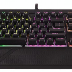 Corsair STRAFE RGB Mechanical Gaming Keyboard, RGB LED, Cherry MX Silent (EU) - Tastatura
