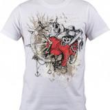 """Tricou personalizat """"Ceas Navigator"""" printeo - Tricou barbati, Marime: S, M, L, XL, XXL, Culoare: Alb, Maneca scurta"""