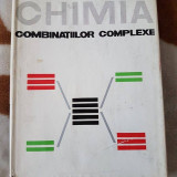 CHIMIA COMBINATIILOR COMPLEXE-SPACU/BREZEANU - Carte Chimie