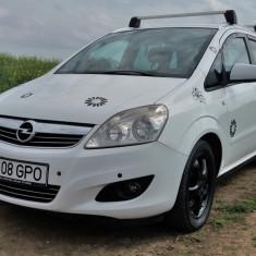 Opel Zafira B 1, 9 CDTI, 150 CP, unic utilizator, carte service, 2010, Motorina/Diesel, 240000 km, 1900 cmc