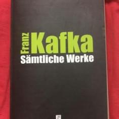 Franz Kafka SAMTLICHE WERKE