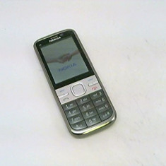 Nokia C5 folosit / stare estetica 8 / carcasa originala neschimbata - Telefon mobil Nokia C5, Gri, Neblocat