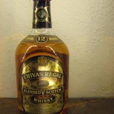 R A R E whisky chivas regal, 12 ani, cl. 70 gr 40