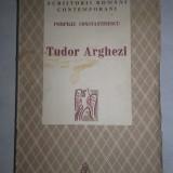 TUDOR ARGHEZI de POMPILIU CONSTANTINESCU, Bucuresti 1940 - Carte veche