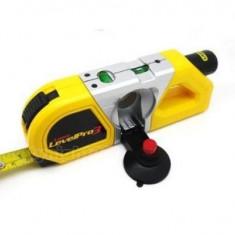 Boloboc Nivela cu laser si ruleta Levelpro 3