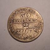 30 kopeici 2 Zlote 1836, Europa